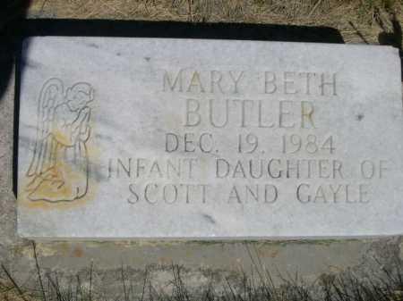 BUTLER, MARY BETH - Dawes County, Nebraska | MARY BETH BUTLER - Nebraska Gravestone Photos