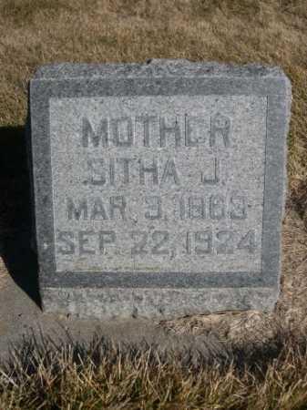 BUTLER, SITHA J. - Dawes County, Nebraska | SITHA J. BUTLER - Nebraska Gravestone Photos