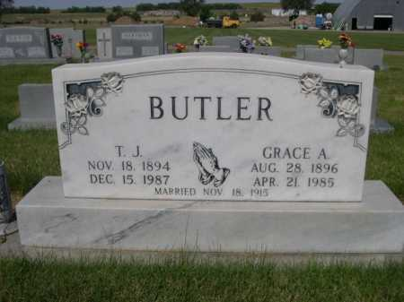 BUTLER, T. J. - Dawes County, Nebraska | T. J. BUTLER - Nebraska Gravestone Photos