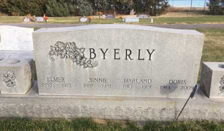 BYERLY, HARLAND - Dawes County, Nebraska | HARLAND BYERLY - Nebraska Gravestone Photos