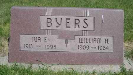 BYERS, WILLIAM H. - Dawes County, Nebraska | WILLIAM H. BYERS - Nebraska Gravestone Photos