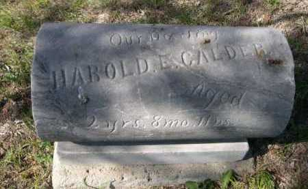 CALDER, HAROLD - Dawes County, Nebraska | HAROLD CALDER - Nebraska Gravestone Photos