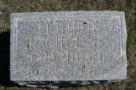 CRAMBELLI, RACHELL E. - Dawes County, Nebraska | RACHELL E. CRAMBELLI - Nebraska Gravestone Photos