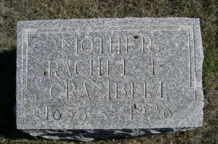 CRAMBELLI, RACHELL E. - Dawes County, Nebraska   RACHELL E. CRAMBELLI - Nebraska Gravestone Photos