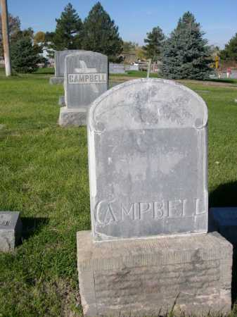 CAMPBELL, FAMILY - Dawes County, Nebraska | FAMILY CAMPBELL - Nebraska Gravestone Photos