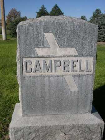 CAMPBELL, FAMILY - Dawes County, Nebraska | FAMILY CAMPBELL - Nebraska Gravestone Photos