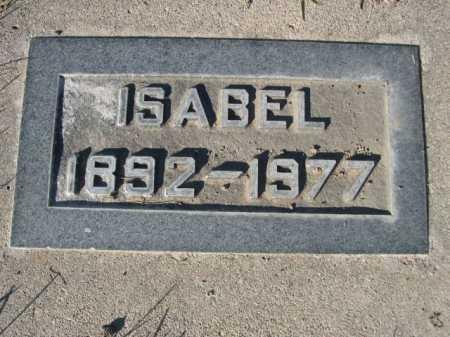 CAMPBELL, ISABEL - Dawes County, Nebraska | ISABEL CAMPBELL - Nebraska Gravestone Photos