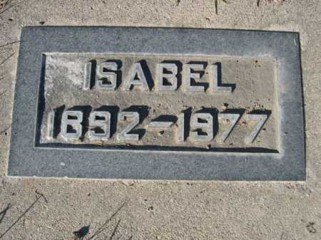 CAMPBELL, ISABEL - Dawes County, Nebraska | ISABEL CAMPBELL - Nebraska Gravestone Photos