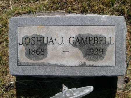 CAMPBELL, JOSHUA J. - Dawes County, Nebraska | JOSHUA J. CAMPBELL - Nebraska Gravestone Photos
