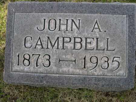 CAMPBELL, JOHN A/ - Dawes County, Nebraska | JOHN A/ CAMPBELL - Nebraska Gravestone Photos