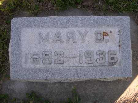 CAMPBELL, MARY O. - Dawes County, Nebraska   MARY O. CAMPBELL - Nebraska Gravestone Photos