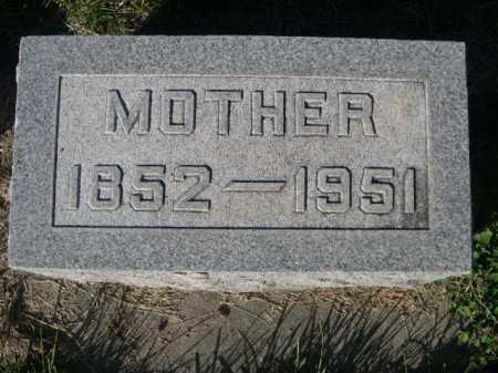 CAMPBELL, MOTHER - Dawes County, Nebraska | MOTHER CAMPBELL - Nebraska Gravestone Photos