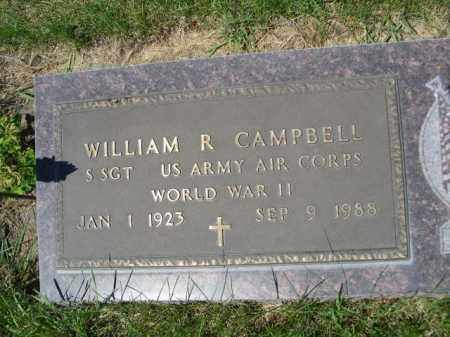 CAMPBELL, WILLIAM R. - Dawes County, Nebraska | WILLIAM R. CAMPBELL - Nebraska Gravestone Photos
