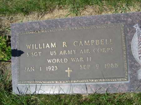 CAMPBELL, WILLIAM R. - Dawes County, Nebraska | WILLIAM R. CAMPBELL - Nebraska Gravestone Photos