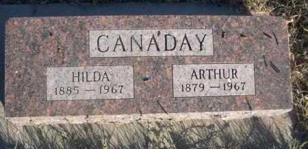 CANADAY, HILDA - Dawes County, Nebraska | HILDA CANADAY - Nebraska Gravestone Photos