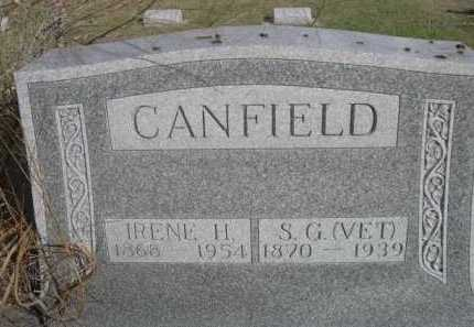 CANFIELD, IRENE H. - Dawes County, Nebraska | IRENE H. CANFIELD - Nebraska Gravestone Photos