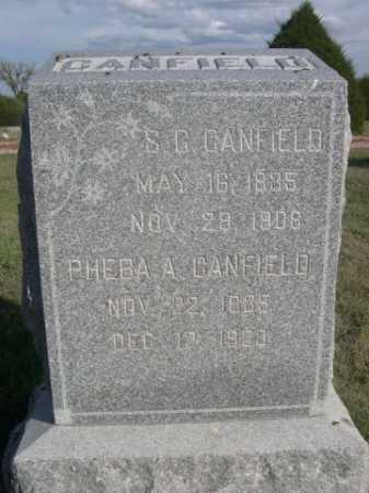 CANFIELD, S.G. - Dawes County, Nebraska | S.G. CANFIELD - Nebraska Gravestone Photos