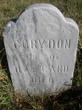 CARD, CORY DON - Dawes County, Nebraska | CORY DON CARD - Nebraska Gravestone Photos