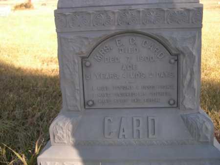 CARD, MRS. E. C. - Dawes County, Nebraska | MRS. E. C. CARD - Nebraska Gravestone Photos