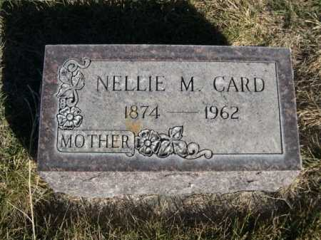 CARD, NELLIE M. - Dawes County, Nebraska | NELLIE M. CARD - Nebraska Gravestone Photos