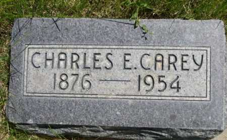 CAREY, CHARLES E. - Dawes County, Nebraska | CHARLES E. CAREY - Nebraska Gravestone Photos