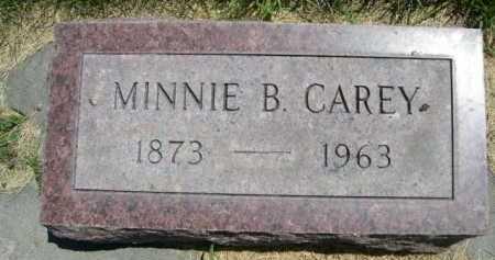 CAREY, MINNIE B. - Dawes County, Nebraska | MINNIE B. CAREY - Nebraska Gravestone Photos