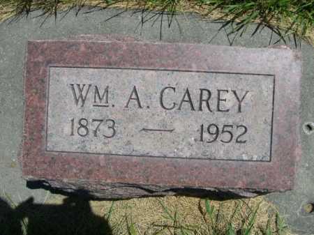CAREY, WM. A. - Dawes County, Nebraska   WM. A. CAREY - Nebraska Gravestone Photos
