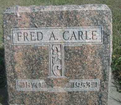 CARLE, FRED A. - Dawes County, Nebraska | FRED A. CARLE - Nebraska Gravestone Photos
