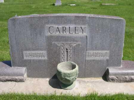 CARLEY, FURMAN B. - Dawes County, Nebraska | FURMAN B. CARLEY - Nebraska Gravestone Photos