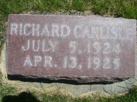 CARLISLE, RICHARD - Dawes County, Nebraska   RICHARD CARLISLE - Nebraska Gravestone Photos