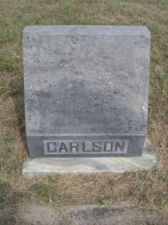 CARLSON, ANNE - Dawes County, Nebraska | ANNE CARLSON - Nebraska Gravestone Photos