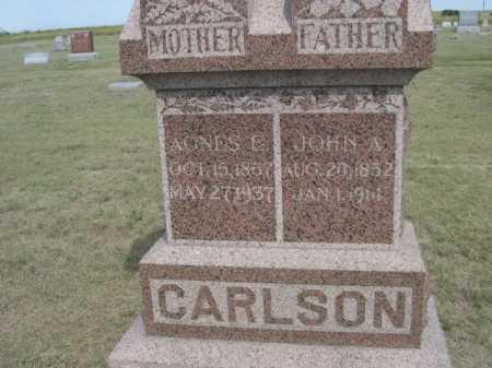 CARLSON, AGNES E. - Dawes County, Nebraska | AGNES E. CARLSON - Nebraska Gravestone Photos
