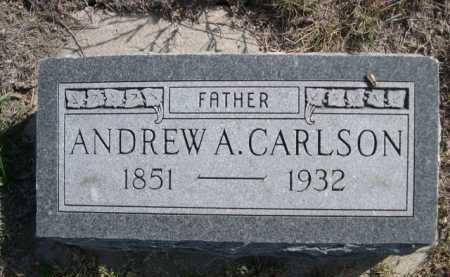 CARLSON, ANDREW A. - Dawes County, Nebraska | ANDREW A. CARLSON - Nebraska Gravestone Photos