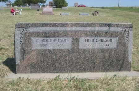 CARLSON, FRED - Dawes County, Nebraska | FRED CARLSON - Nebraska Gravestone Photos