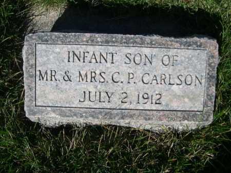 CARLSON, INFANT SON OF MR. & MRS. C.P. - Dawes County, Nebraska   INFANT SON OF MR. & MRS. C.P. CARLSON - Nebraska Gravestone Photos