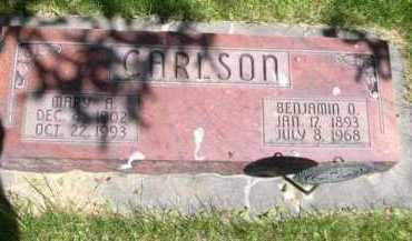 CARLSON, MARY A. - Dawes County, Nebraska | MARY A. CARLSON - Nebraska Gravestone Photos