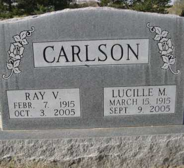 CARLSON, LUCILLE M. - Dawes County, Nebraska   LUCILLE M. CARLSON - Nebraska Gravestone Photos