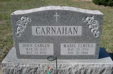 CARNAHAN, MABEL ELMIRA - Dawes County, Nebraska | MABEL ELMIRA CARNAHAN - Nebraska Gravestone Photos