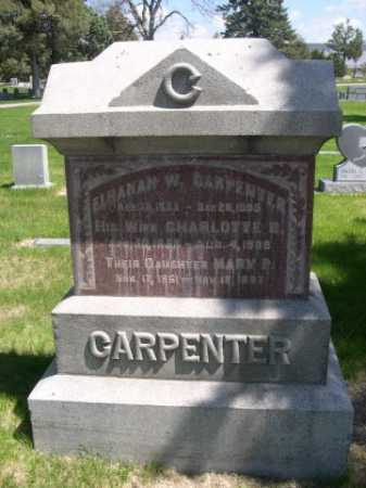 CARPENTER, ELHANAN W. - Dawes County, Nebraska | ELHANAN W. CARPENTER - Nebraska Gravestone Photos