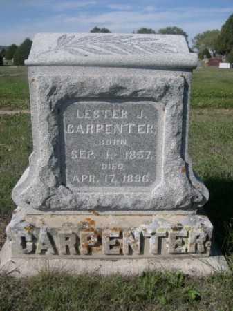 CARPENTER, LESTER J. - Dawes County, Nebraska   LESTER J. CARPENTER - Nebraska Gravestone Photos