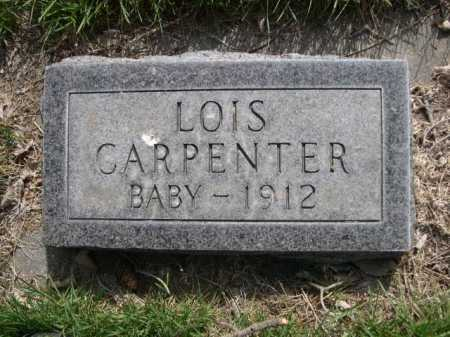 CARPENTER, LOIS - Dawes County, Nebraska | LOIS CARPENTER - Nebraska Gravestone Photos