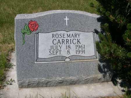 CARRICK, ROSEMARY - Dawes County, Nebraska   ROSEMARY CARRICK - Nebraska Gravestone Photos