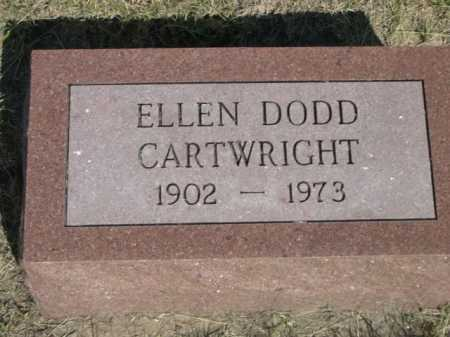 CARTWRIGHT, ELLEN DODD - Dawes County, Nebraska | ELLEN DODD CARTWRIGHT - Nebraska Gravestone Photos