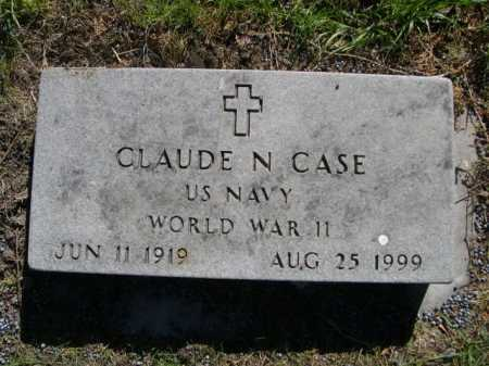 CASE, CLAUDE - Dawes County, Nebraska | CLAUDE CASE - Nebraska Gravestone Photos