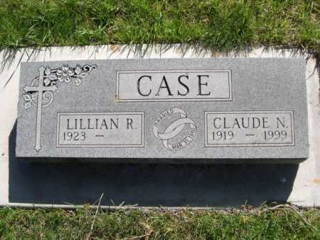 CASE, CLAUDE N. - Dawes County, Nebraska | CLAUDE N. CASE - Nebraska Gravestone Photos