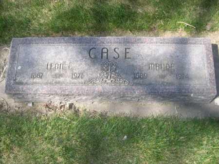 CASE, LEON L. - Dawes County, Nebraska | LEON L. CASE - Nebraska Gravestone Photos
