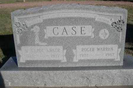 CASE, ROGER WARREN - Dawes County, Nebraska | ROGER WARREN CASE - Nebraska Gravestone Photos