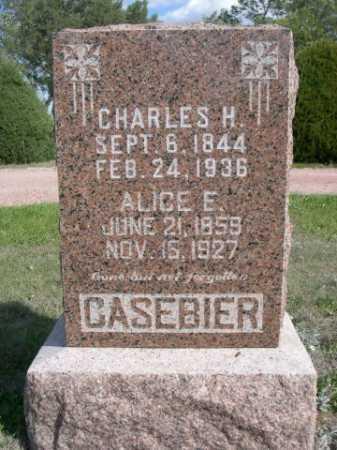 CASEBIER, ALICE E. - Dawes County, Nebraska | ALICE E. CASEBIER - Nebraska Gravestone Photos