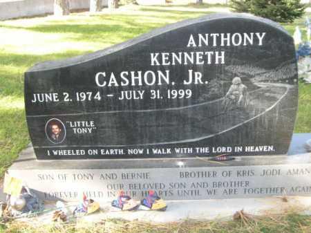 CASHON, ANTHONY KENNETH - Dawes County, Nebraska   ANTHONY KENNETH CASHON - Nebraska Gravestone Photos