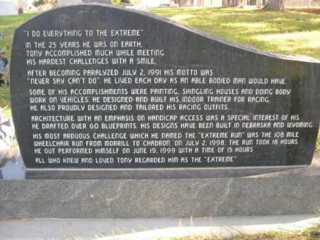 CASHON, ANTHONY KENNETH JR. - Dawes County, Nebraska | ANTHONY KENNETH JR. CASHON - Nebraska Gravestone Photos